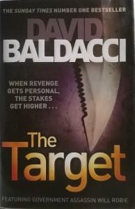 Knyga. The Target - David Baldacci. Taikinys - Deividas Baldačis. Atsiliepimai, apžvalga.
