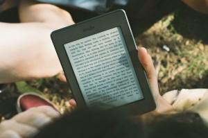 Knygų skaitymas su Kindle