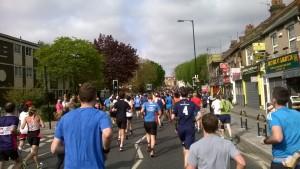 Bėgimas Hackney pusmaratonis 2015