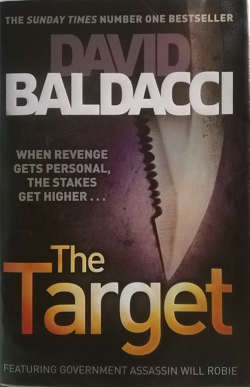 Knyga. The Target - David Baldacci. Taikinys - Deividas Baldačis