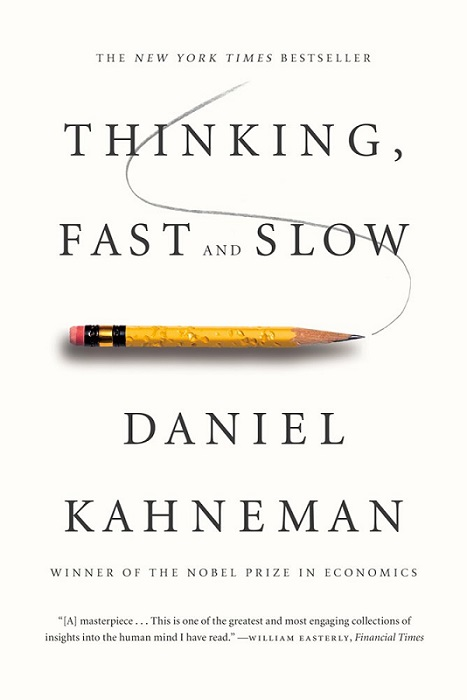 Daniel Kahneman Thinking, Fast and Slow Knyga