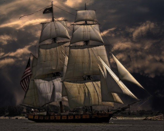 Sailing ship vessel
