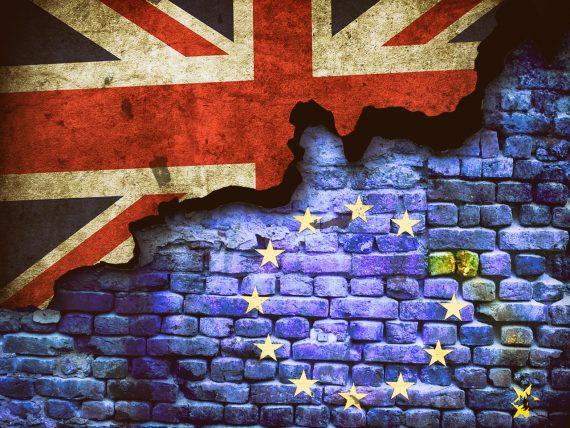 brexit uk eu flags